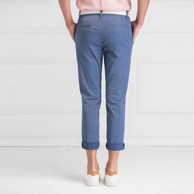 时尚棉质微弹休闲裤