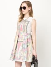【女装】A型连衣裙