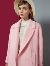 【女装】翻领大衣