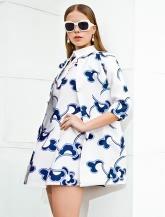 【女装】印纹样外套
