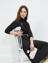 【女装】衬衫式连衣裙